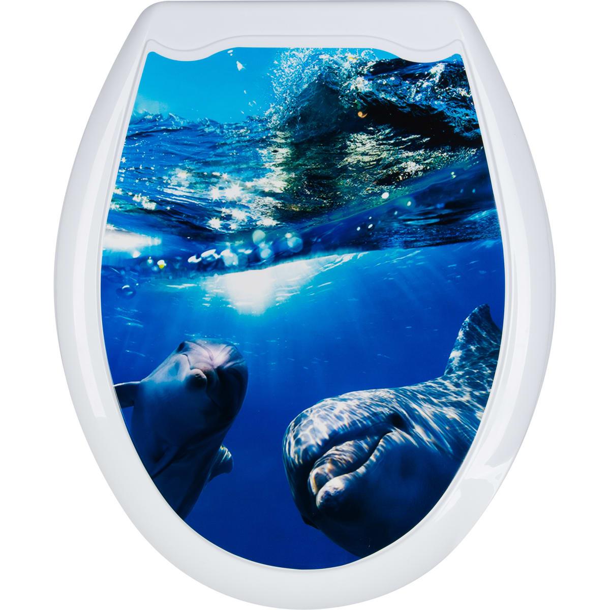 Сиденье для унитаза Дельфины