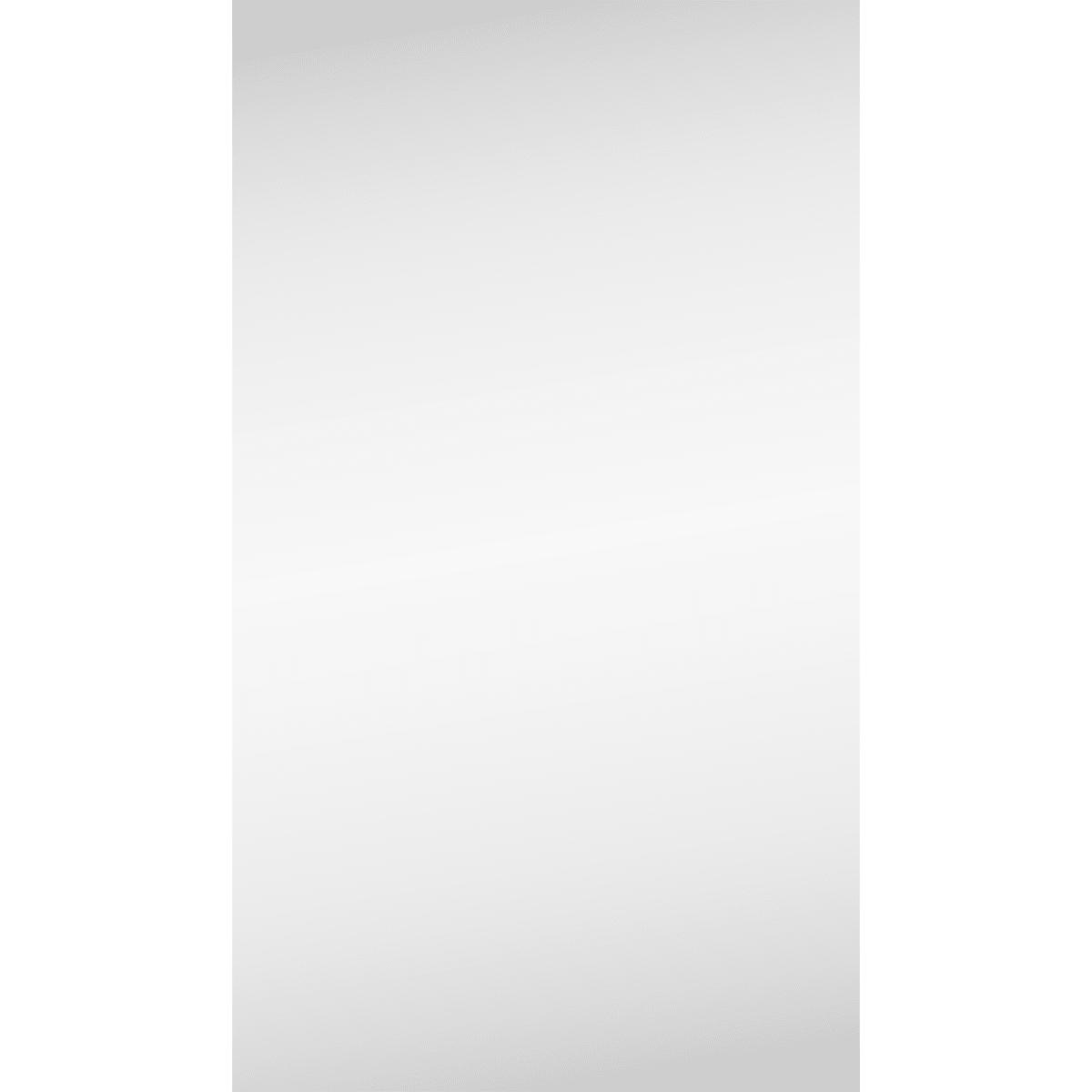 Шкаф зеркальный 40 см цвет белый