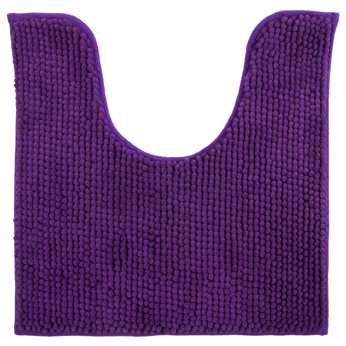 Коврик для туалета Merci, 45х45, полиэстер, цвет фиолетовый