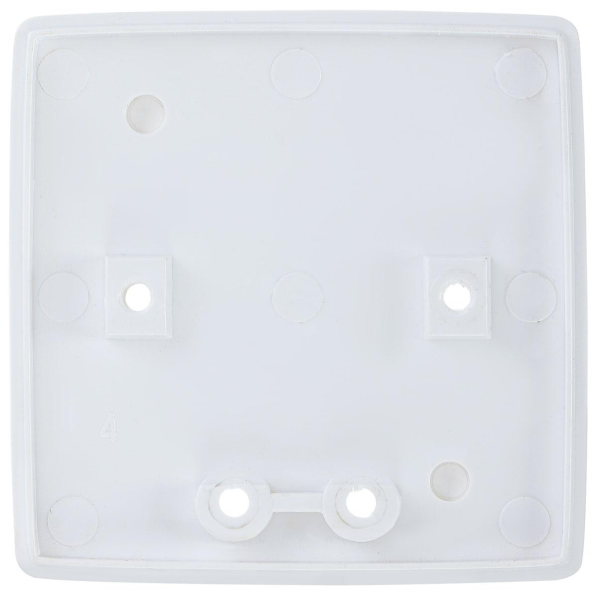 Пластина монтажная для выключателя Reone 69х69 мм, цвет белый