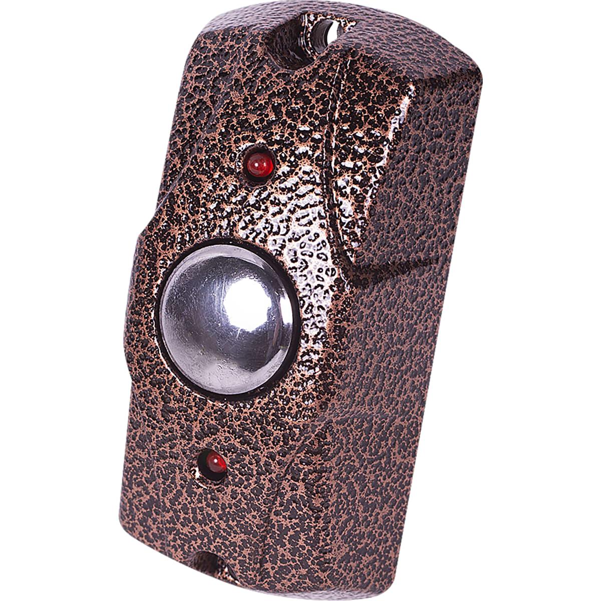 Кнопка выхода Falcon Eye FE-100, 40х80х25 мм, цвет медь