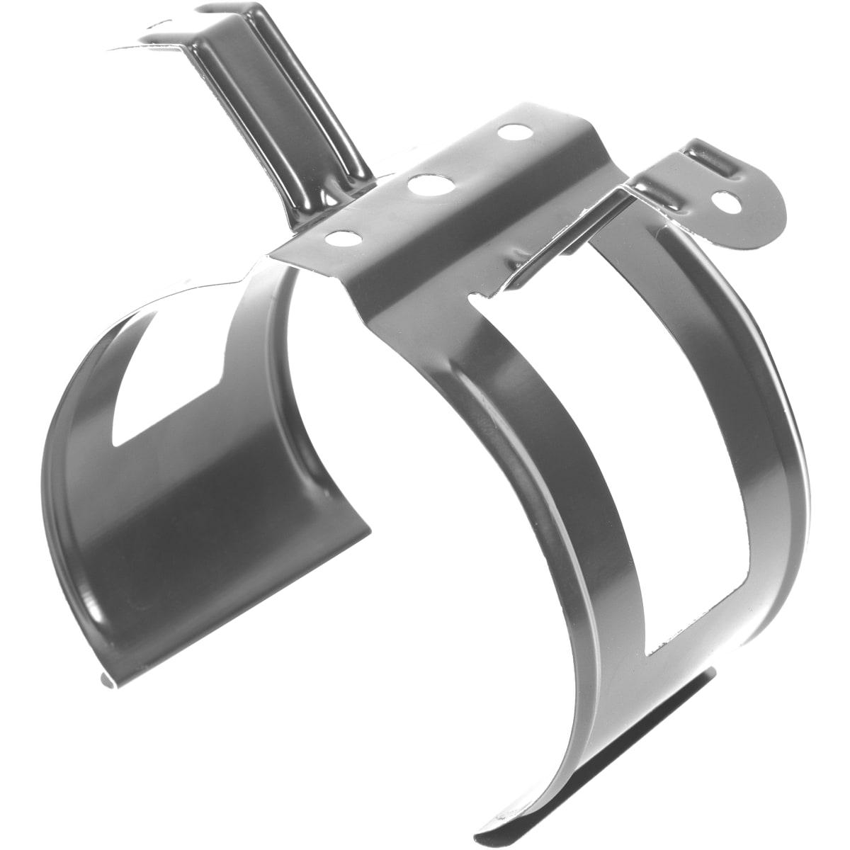 Хомут для водосточной трубы цвет стальной