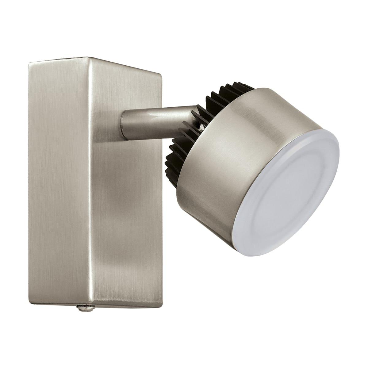 Спот поворотный светодиодный Armento, 2 м², тёплый белый свет, цвет хром