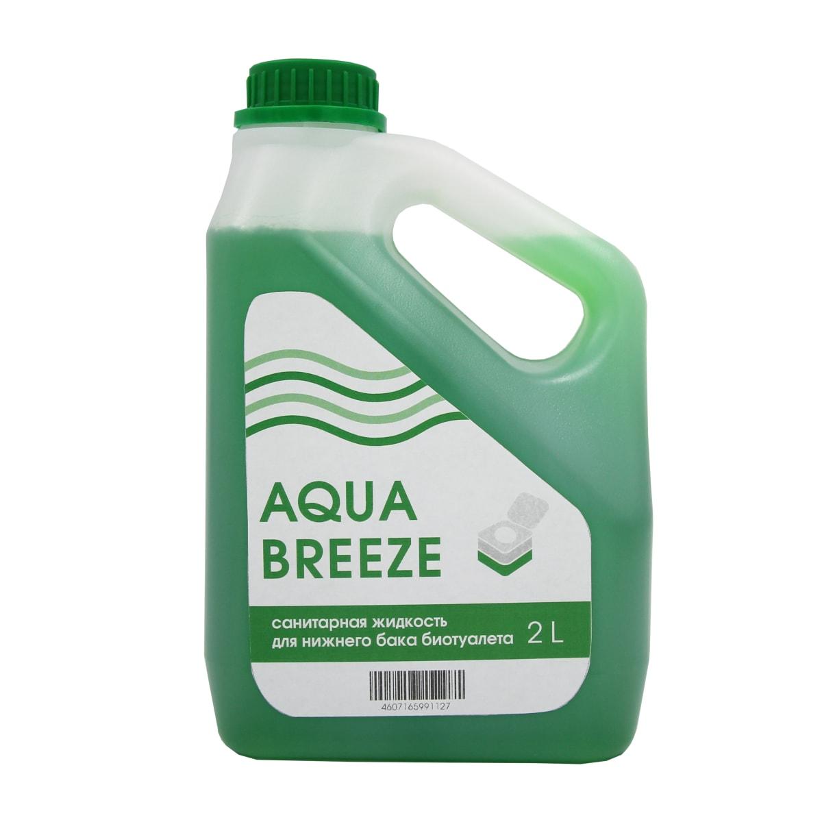 Санитарная жидкость Aquabreeze для нижнего бака, 2 л