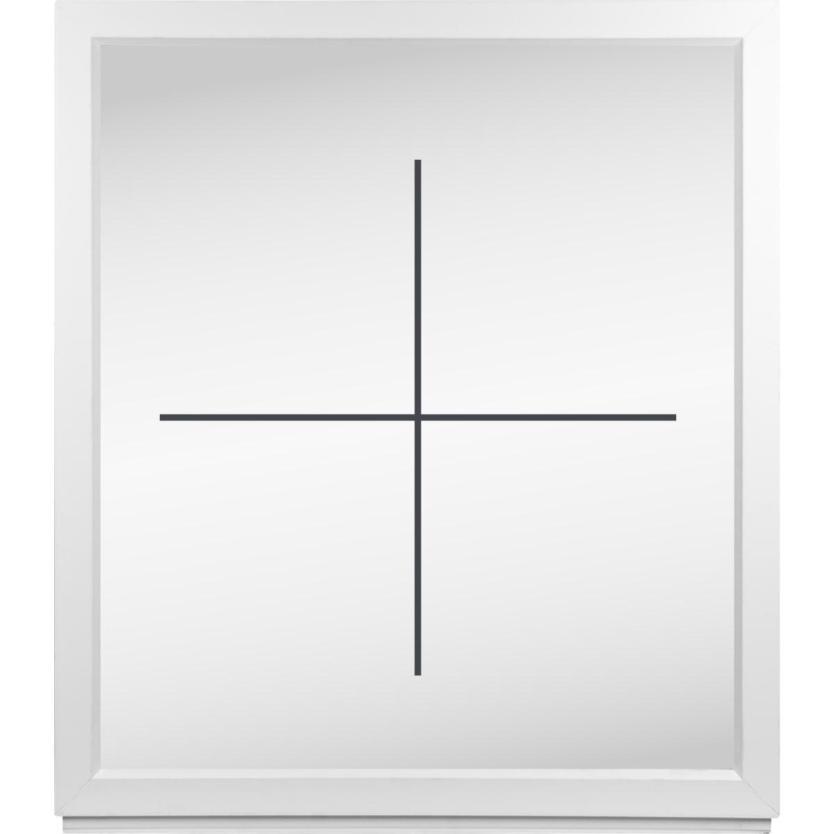 Окно ПВХ одностворчатое 116х100 см глухое