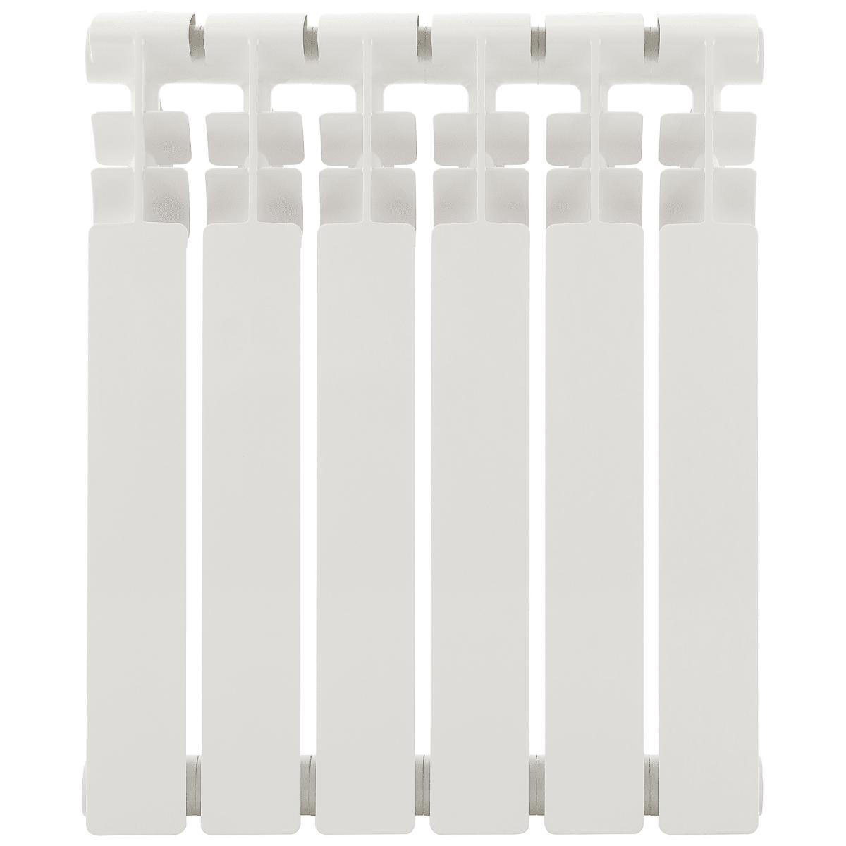 Радиатор 500/80, 6 секций, биметалл