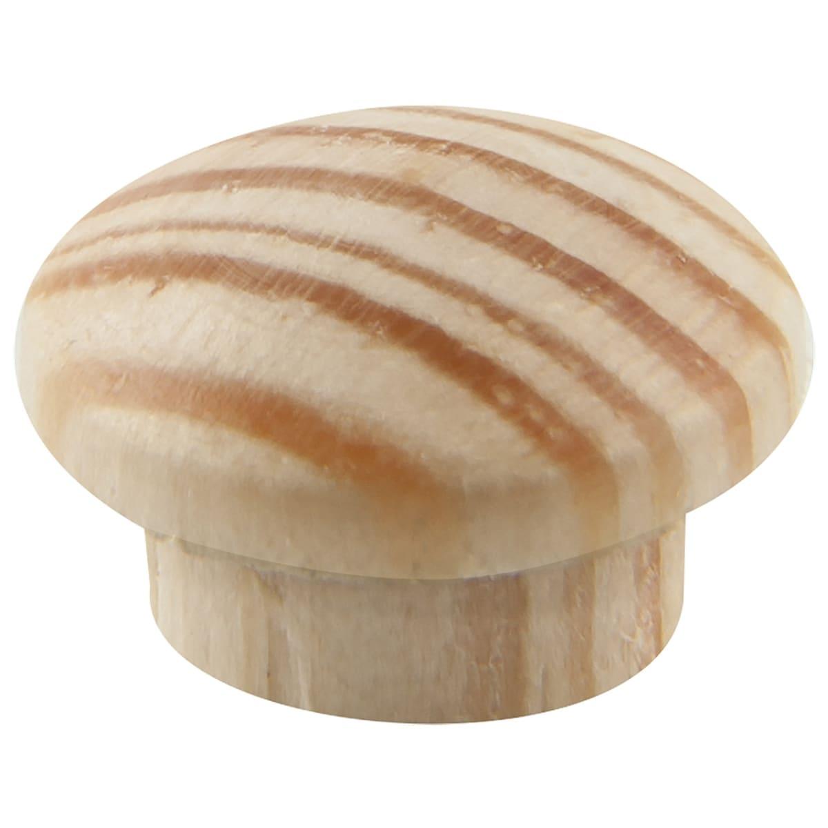 Заглушки деревянные 8 мм, 25 шт.