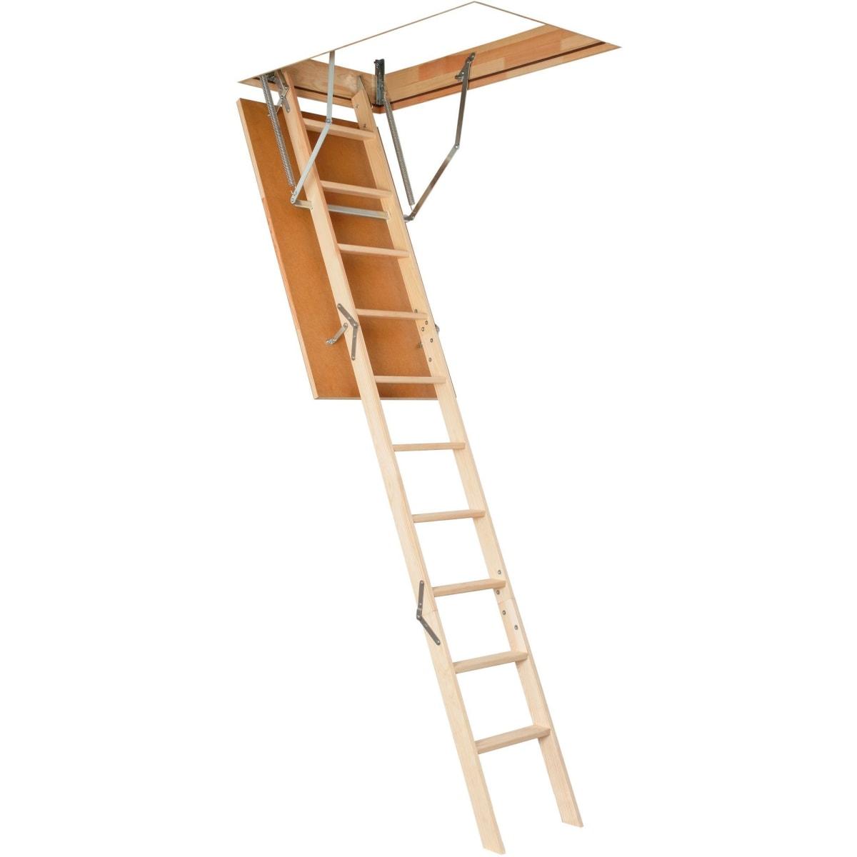 Лестница чердачная OLS-B 120х60x280 см