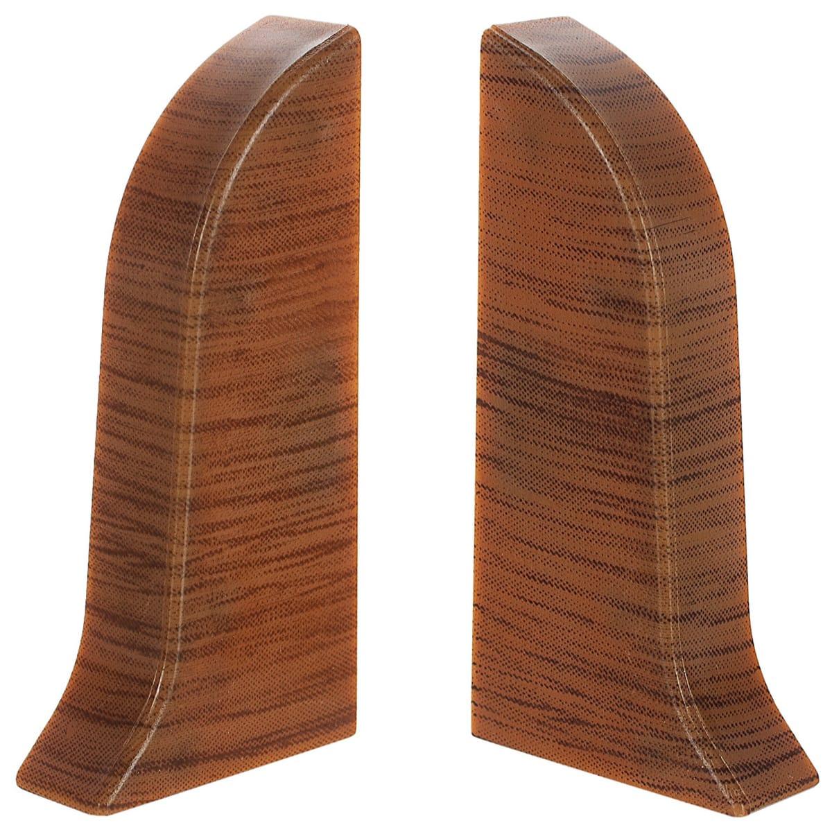 Заглушка для плинтуса левая и правая «Осина Обыкновенная» 47 мм 2 шт.