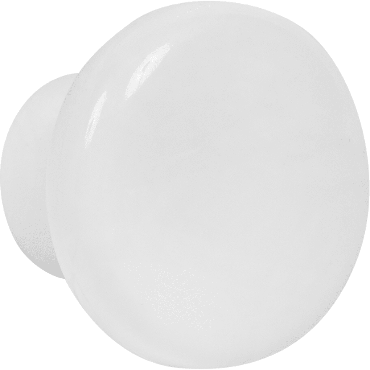 Ручка-кнопка пластик цвет белый