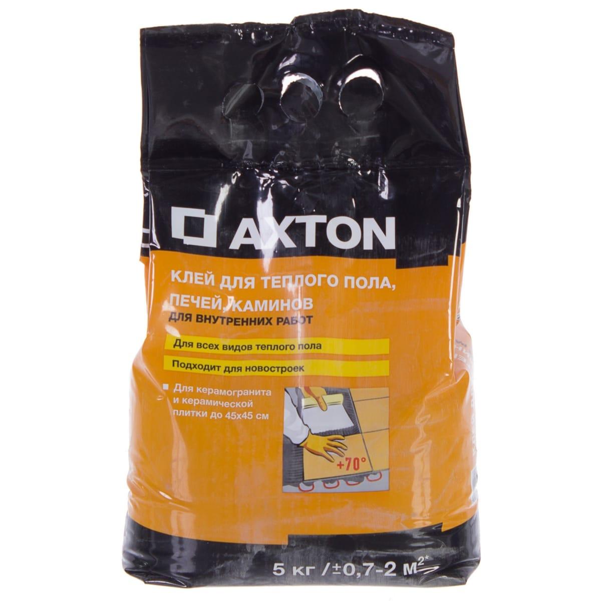 Клей для плитки с тёплым полом Axton 5 кг