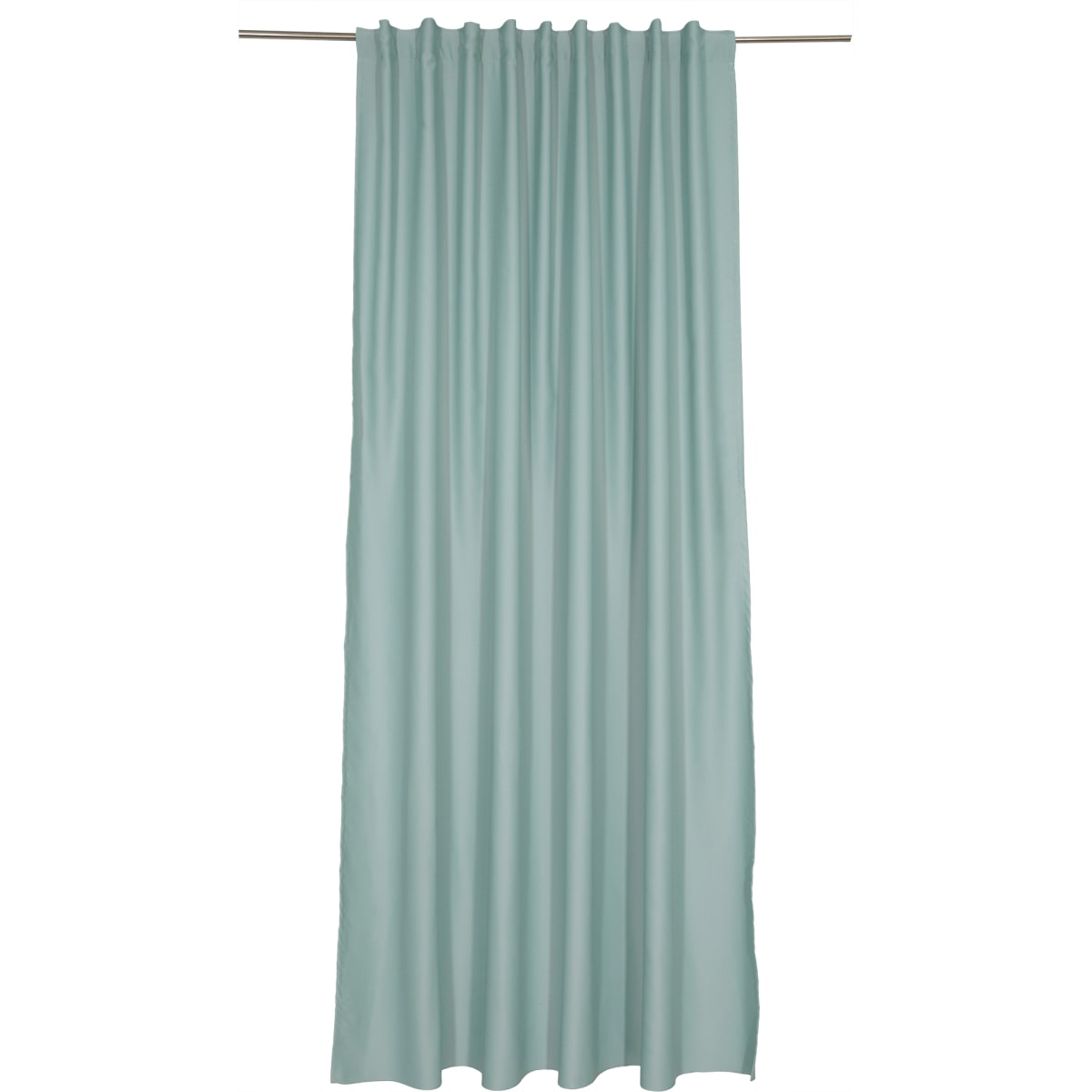 Штора на ленте «Ночь» 200х280 см цвет серо-голубой