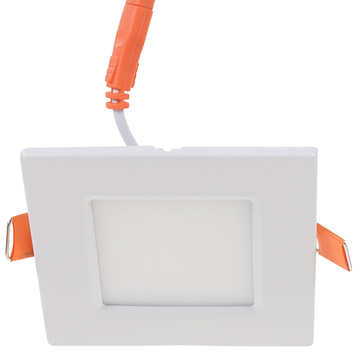 Светильник светодиодный встраиваемый квадратный 3 Вт, 4000K, 8,5 см, цвет белый, свет холодный белый