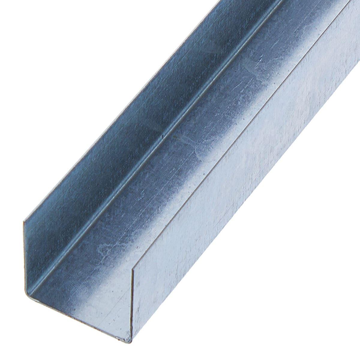 Профиль потолочный (ППН) «Удобный» 27х28х1500 мм 0,6 мм
