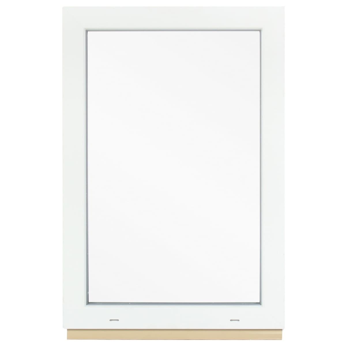Окно ПВХ, 90x60 см, глухое