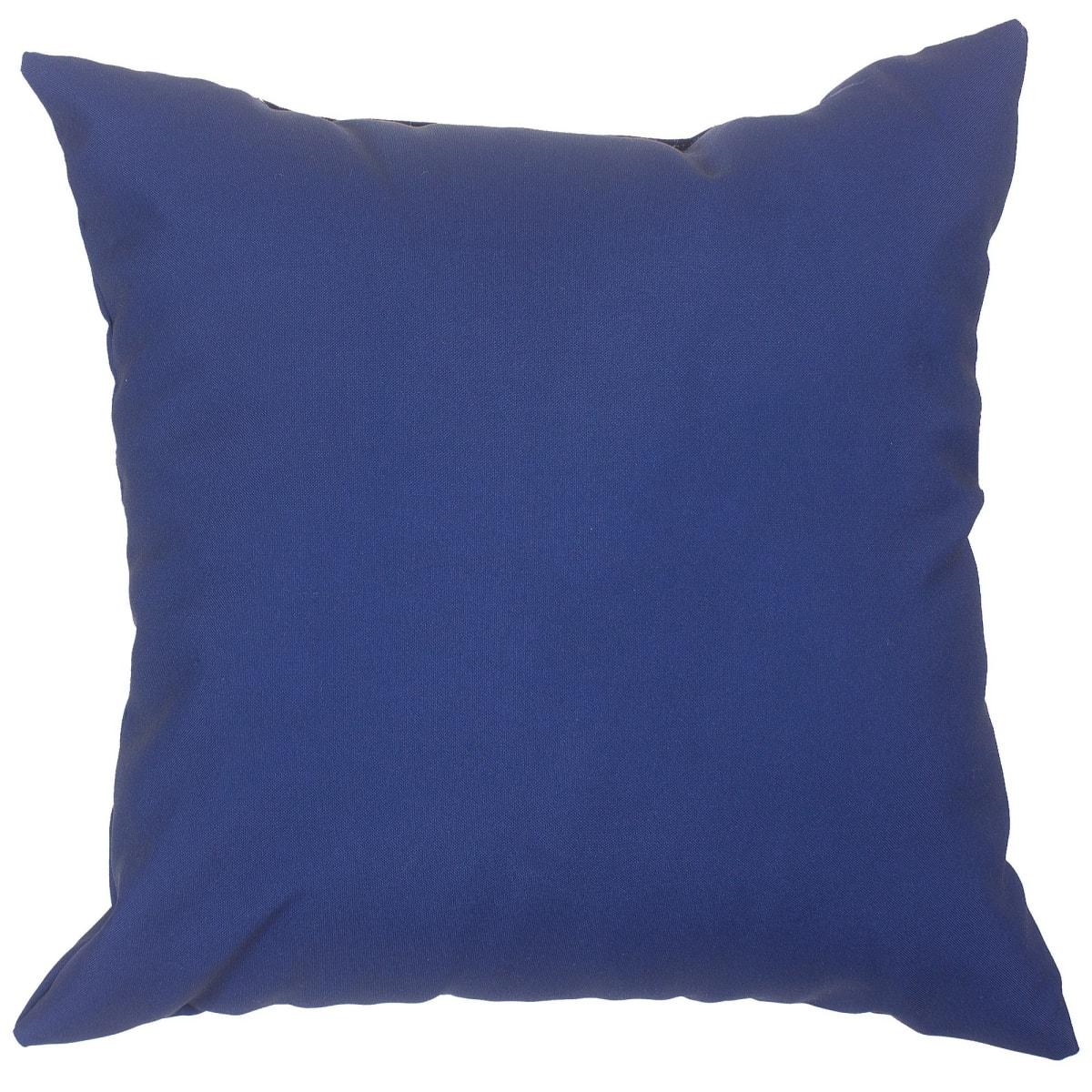Подушка декоративная «Природа» 40х40 см цвет синий