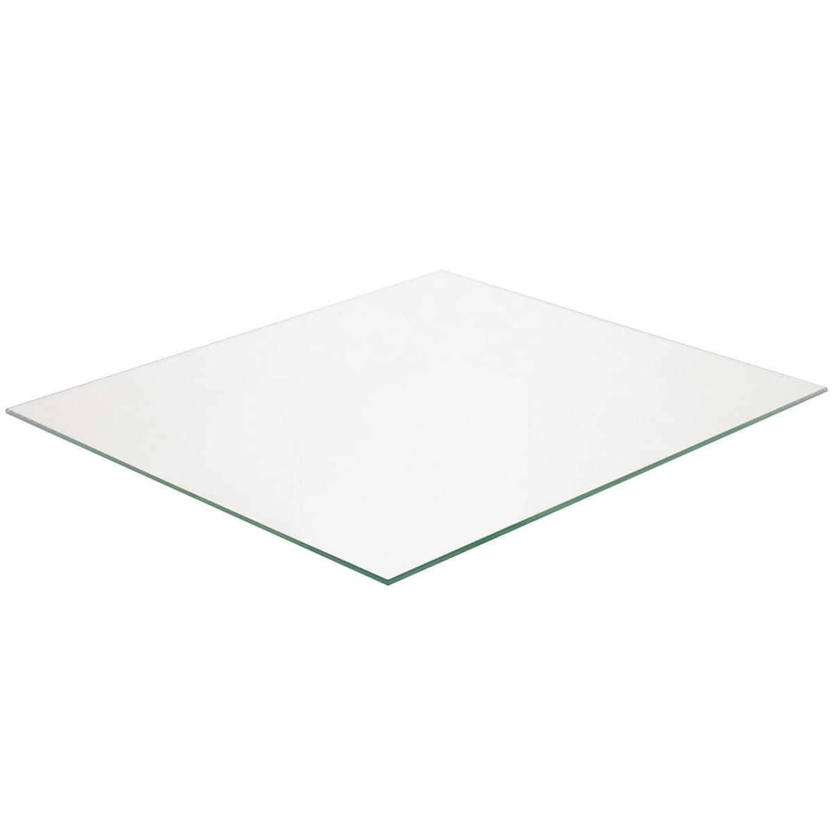 Полка прямоугольная, 36.7х32 см, цвет прозрачный