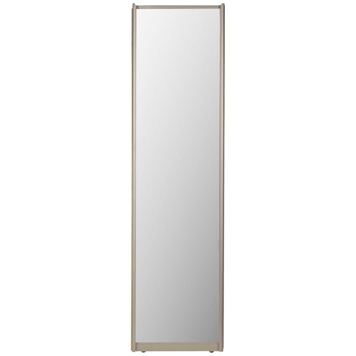 Дверь-купе, 2255х704 мм, цвет зеркало/шампань