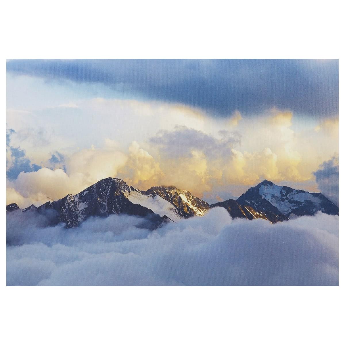 Картина на холсте «Вершины гор» 50х70 см