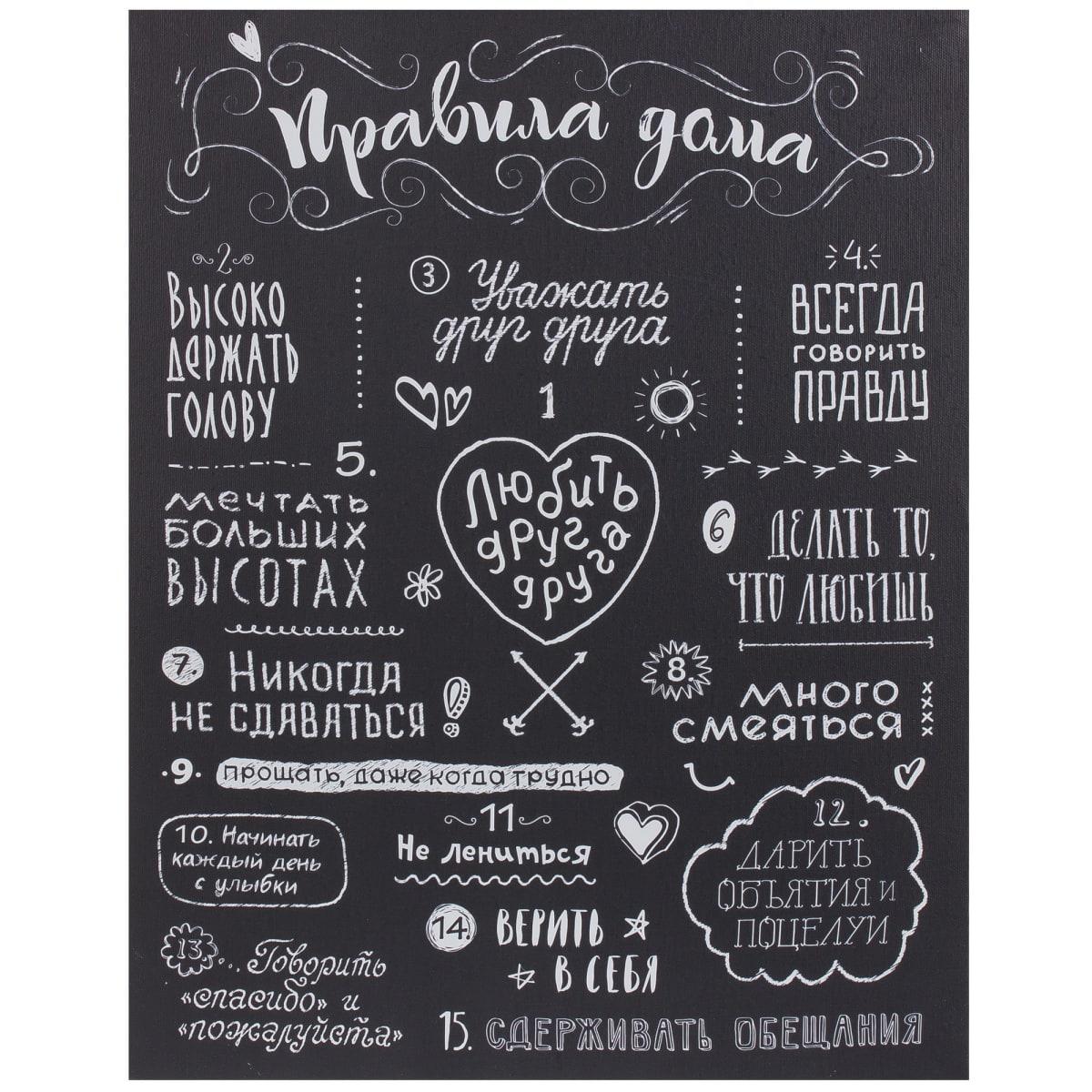 Постеры со словами на кухню