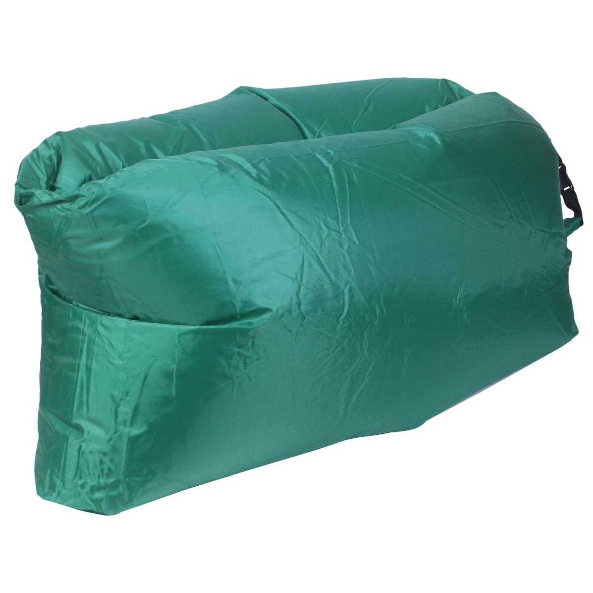 Диван надувной «Long» 220x70 см, цвет зелёный