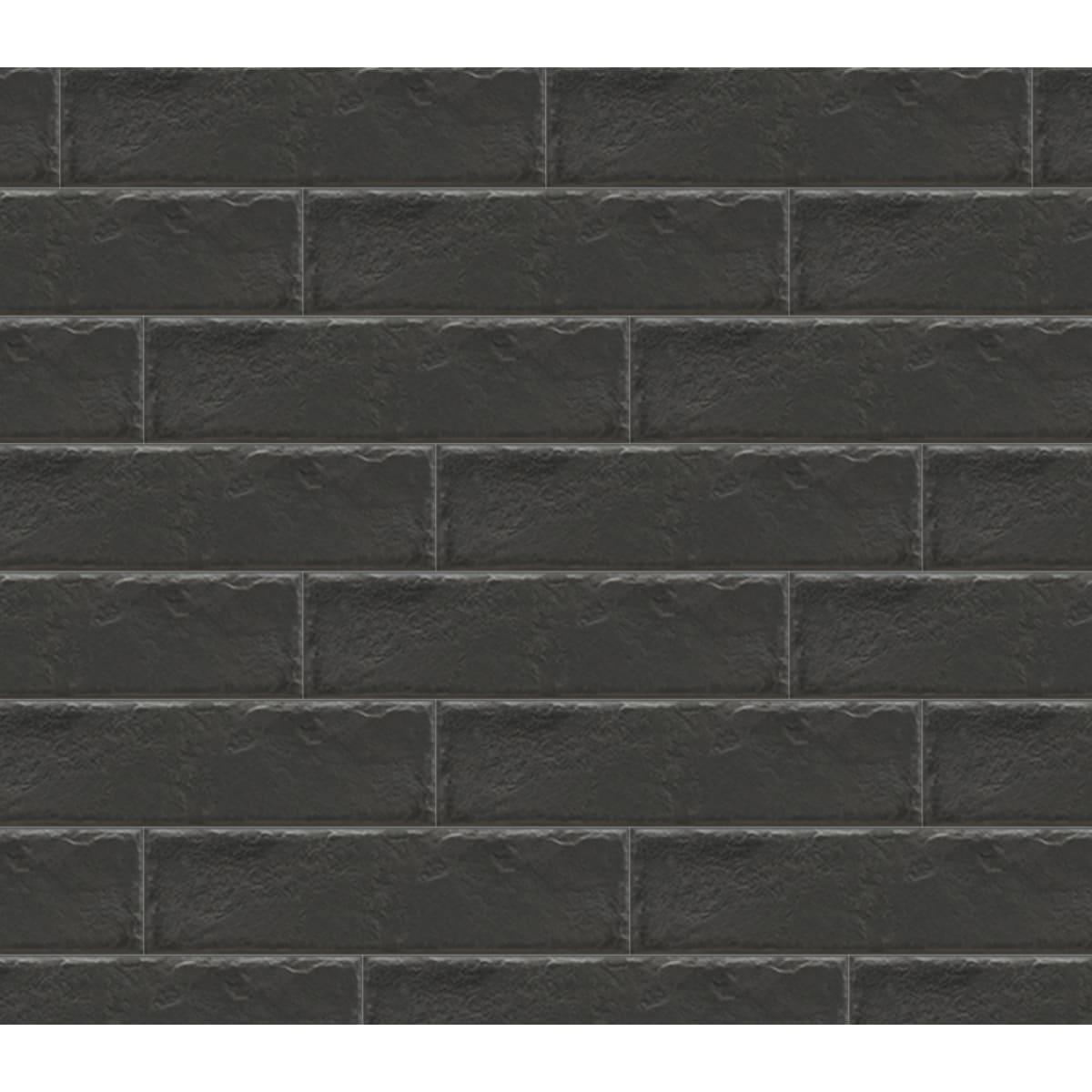 Плитка фасадная Foggia Nero, 0.6 м²