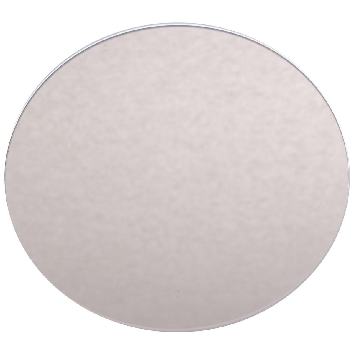 Плитка декоративная зеркальная «Круг» цвет бронзовый