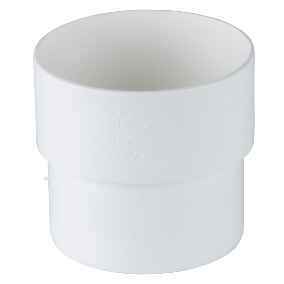 Муфта соединительная Dacha 80 мм цвет белый