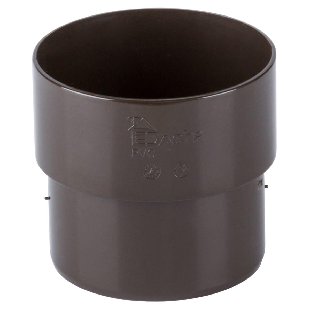 Муфта соединительная Dacha 80 мм цвет коричневый