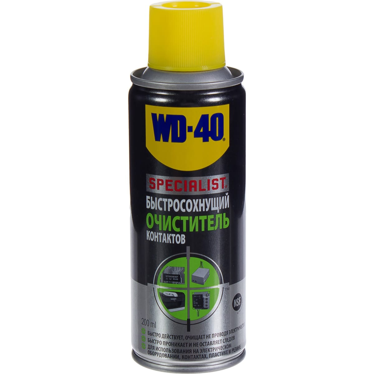 Очиститель контактов WD-40 Specialist, 200 мл