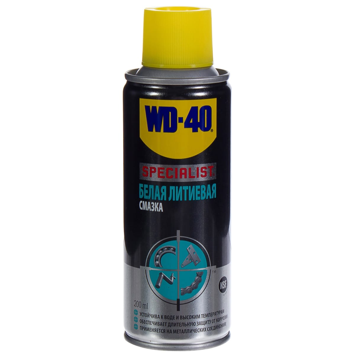 Смазка белая литиевая WD-40 Specialist, 200 мл