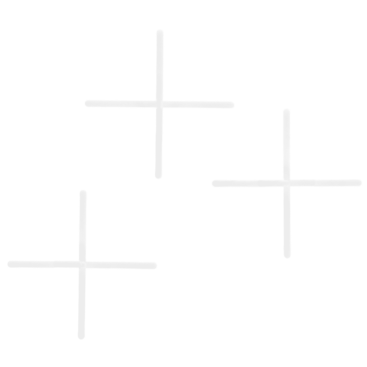 Крестики многоразовые с держателем, 1.0 мм, 100 шт.