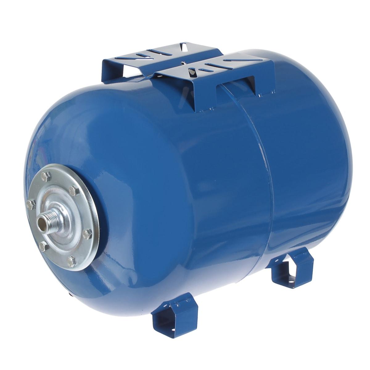Гидроаккумулятор горизонтальный 50 л, фланец оцинкованная сталь