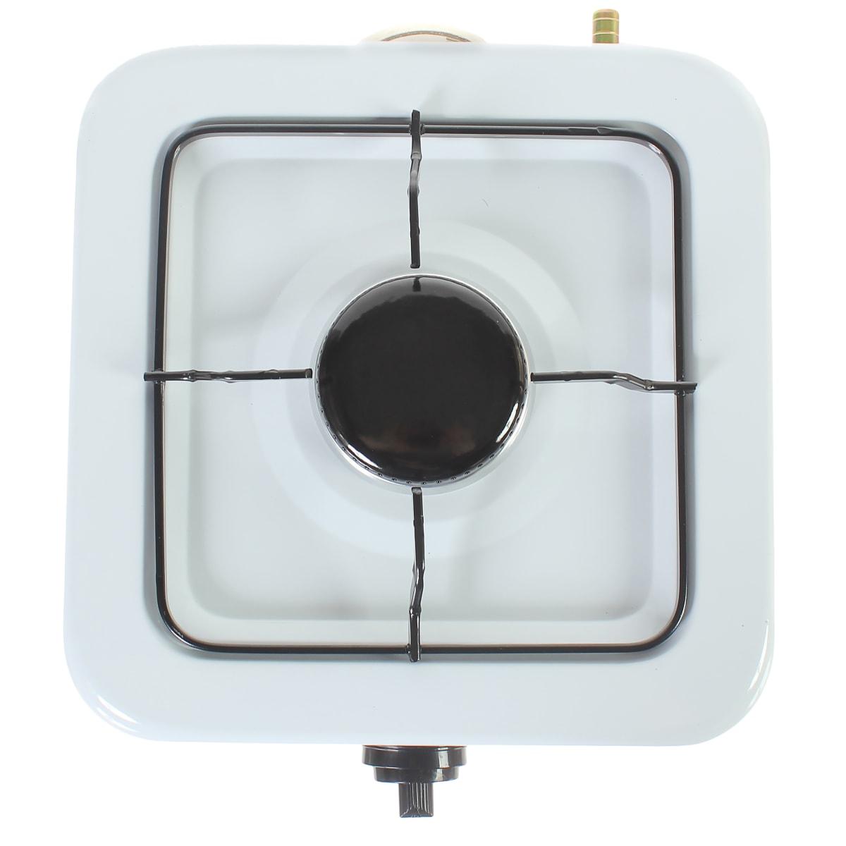Плитка настольная газовая ORE LG30 1 конфорка, цвет белый