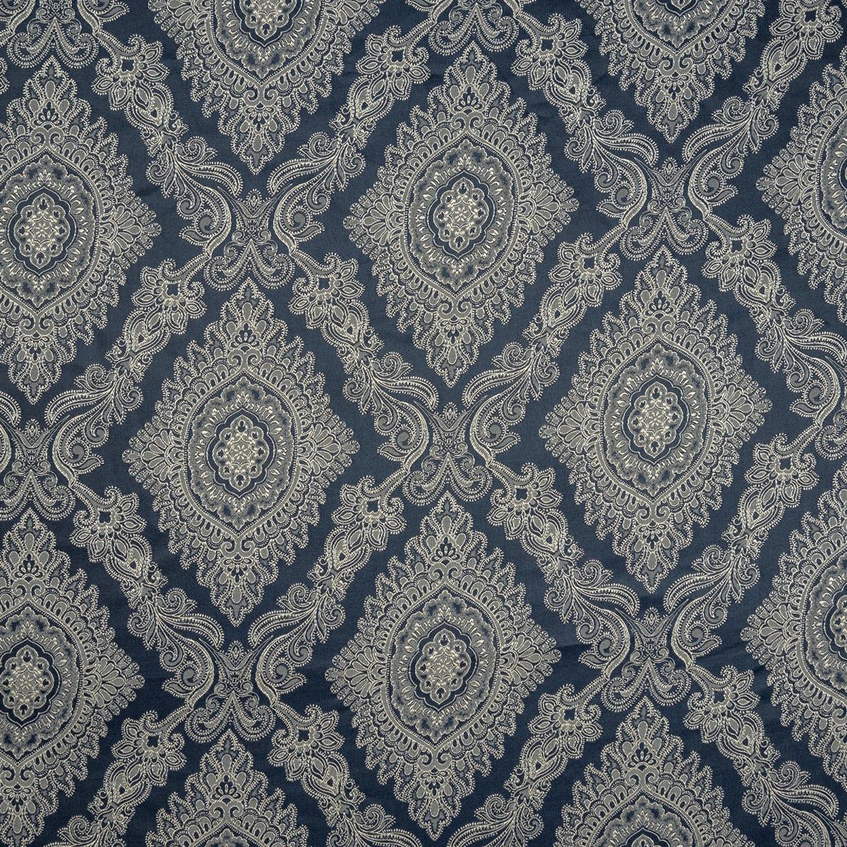 Ткань жаккард 280 см цвет синий