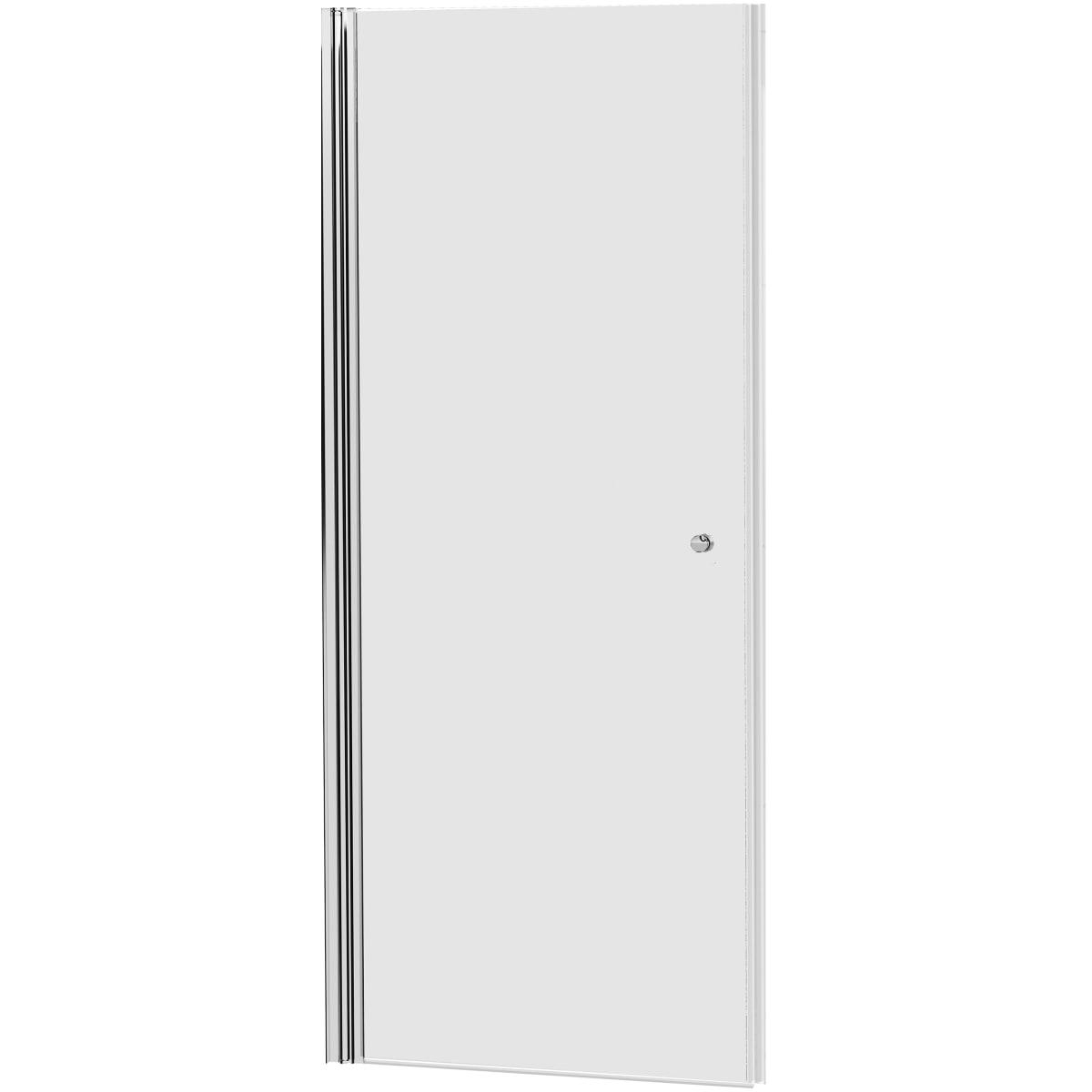 Дверь душевая «Комфорт» распашная, диапазон регулировки ширины 80-90 см