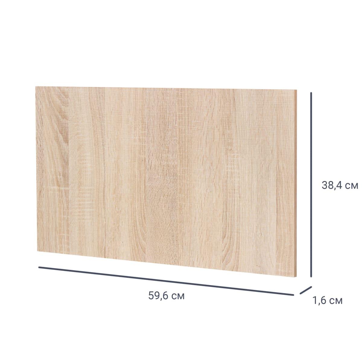 Дверь МФ 38x59.6x1.6 см, цвет дуб сонома