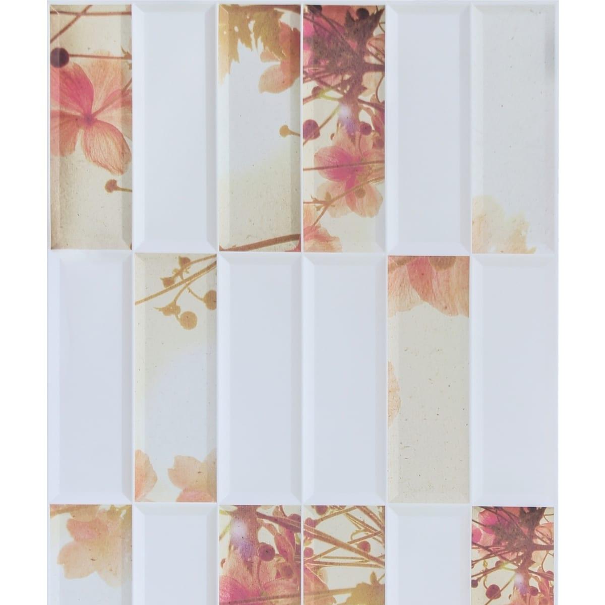 Панель ПВХ листовая 3 мм 955х480 мм Цветы 0.46 м²