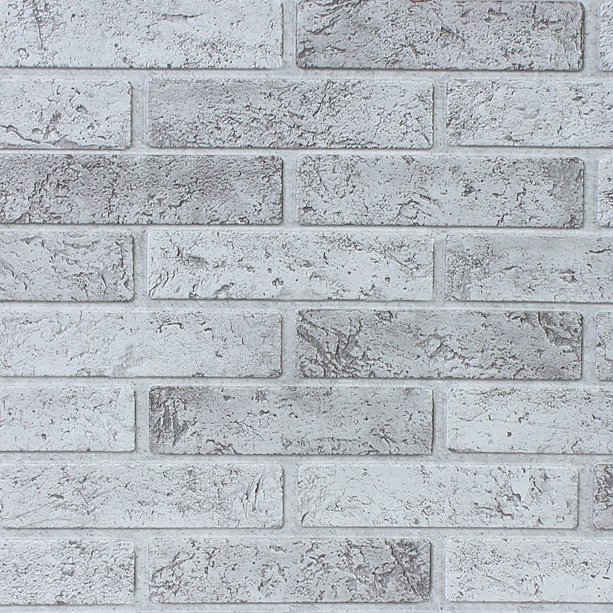 Панель ПВХ листовая 3 мм 962х499 мм Кирпич серый 0.48 м²