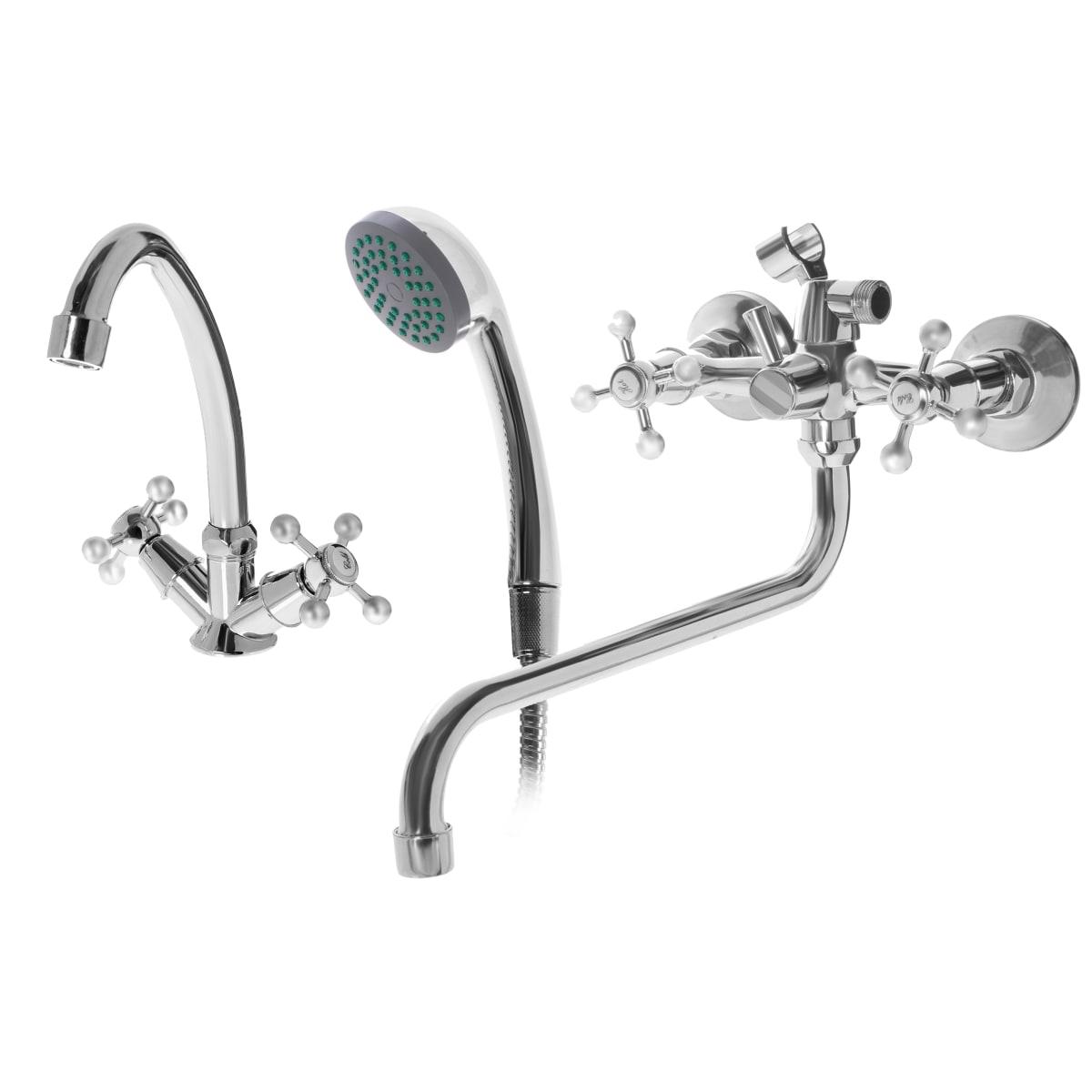 Набор смесителей «София» для раковины и ванной