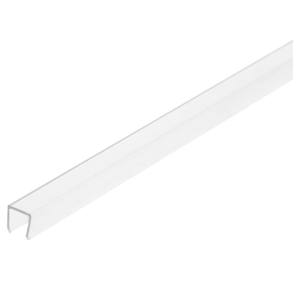 Профиль торцевой П-образный для стеновой панели, 60х0.6 см, пластик