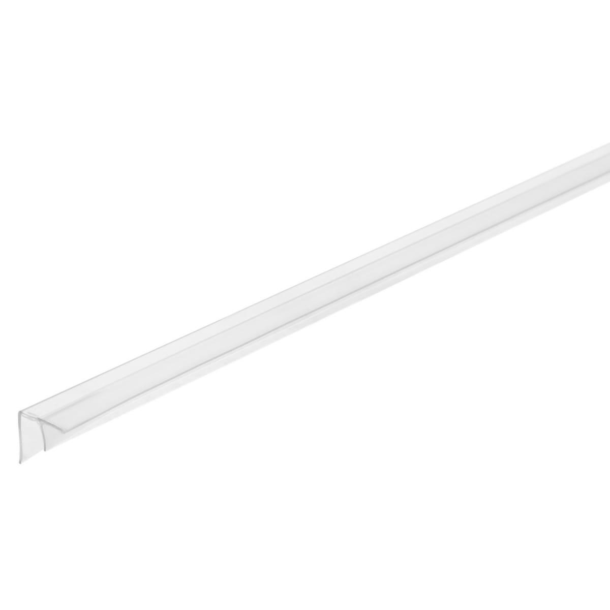 Профиль угловой F-образный для стеновой панели, 60х0.4 см, пластик
