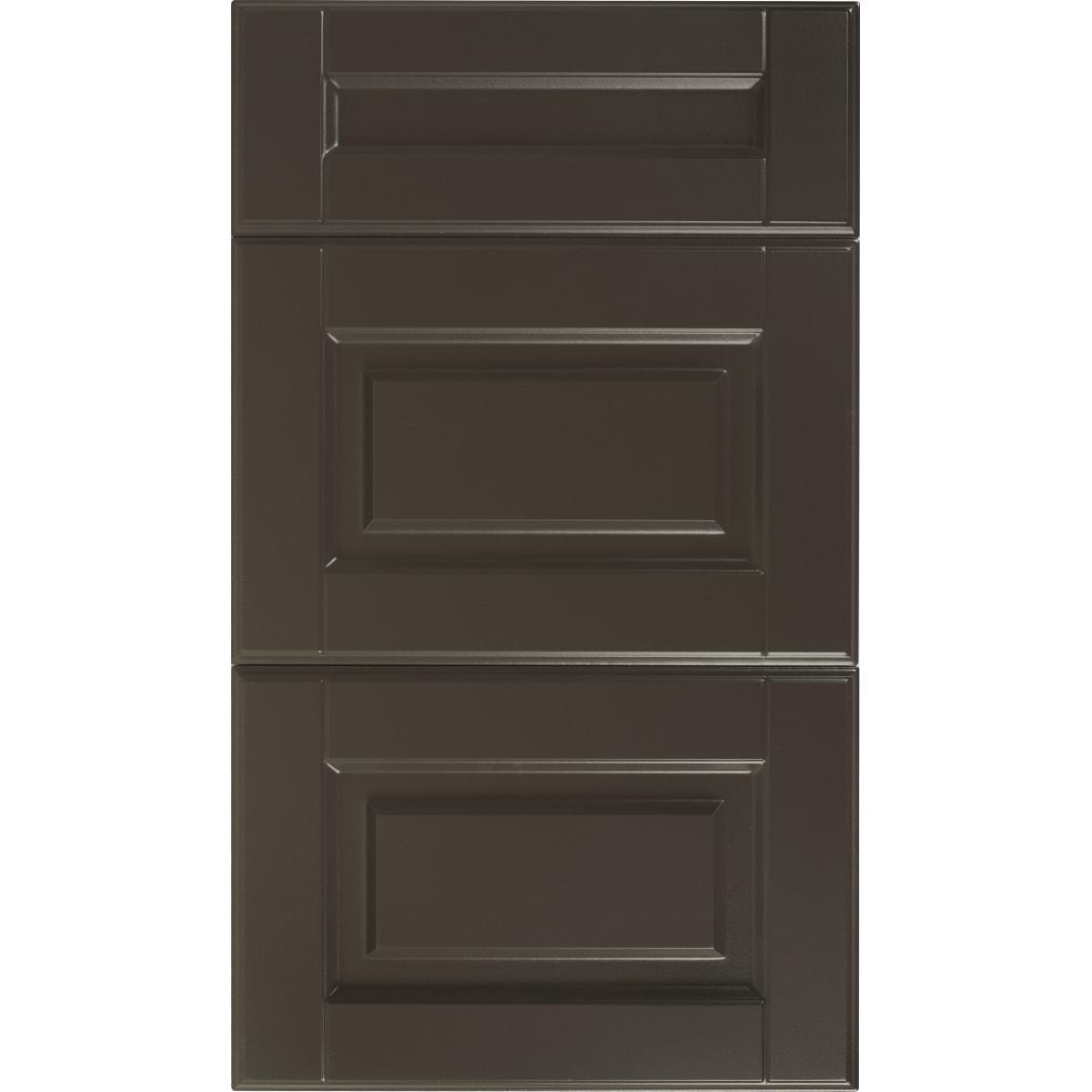 Двери для шкафа Delinia «Леда серая» 40x70 см, МДФ, цвет серый, 3 шт.