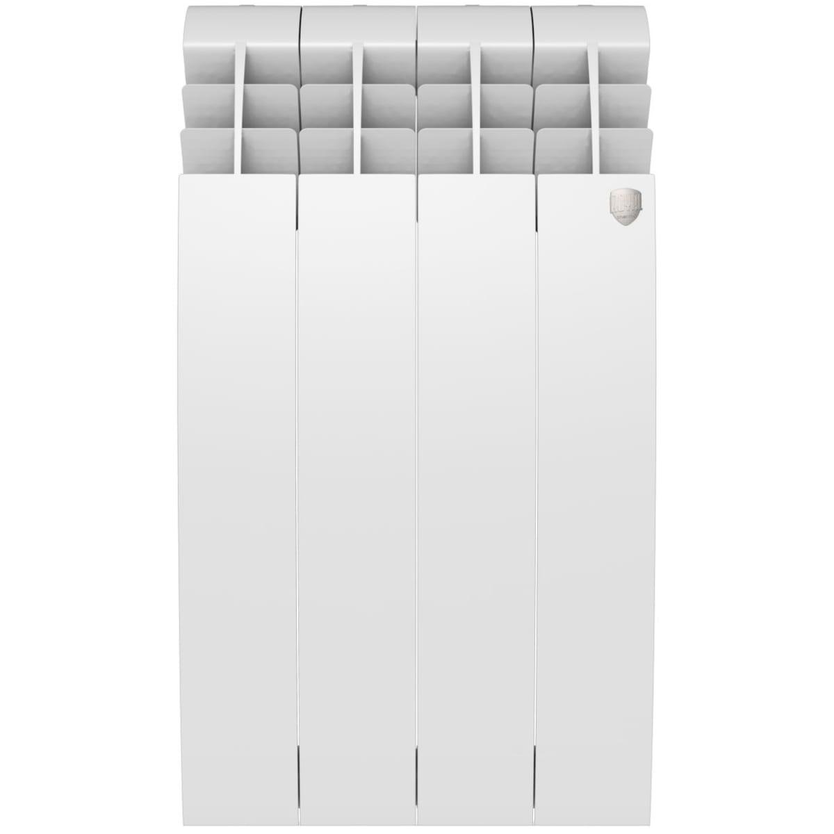 Радиатор Royal Thermo BiLiner 500 4 секции, Bianco Traffico