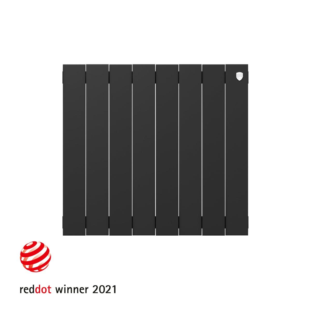 Радиатор Royal Thermo PianoForte 500 8 секций, Noir Sable
