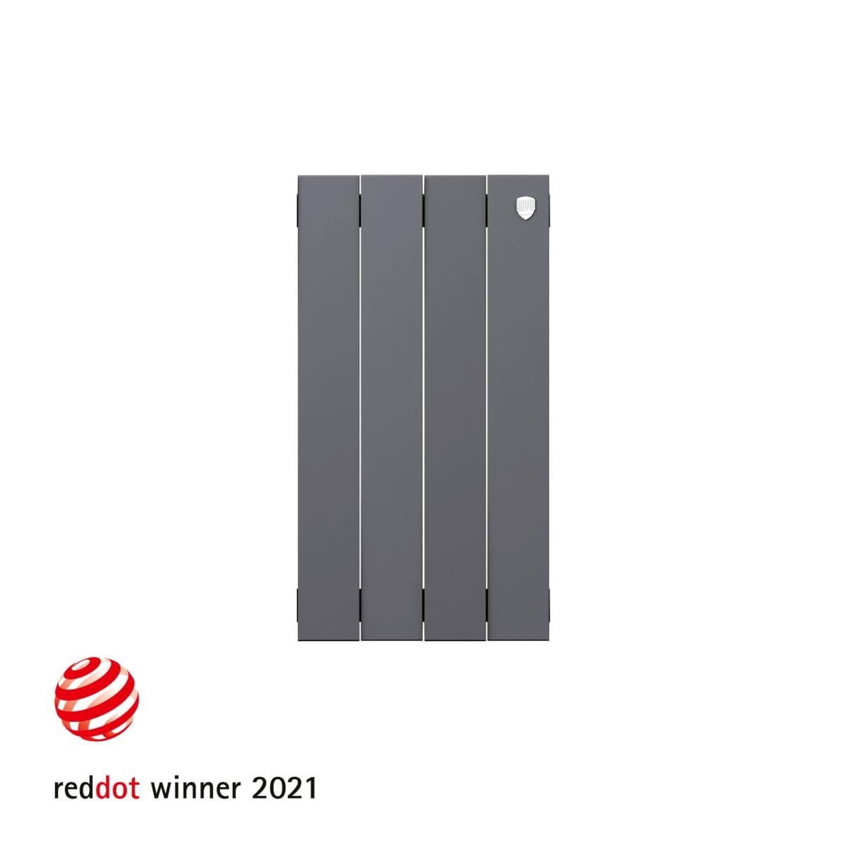 Радиатор Royal Thermo PianoForte 500 4 секции, Silver Satin