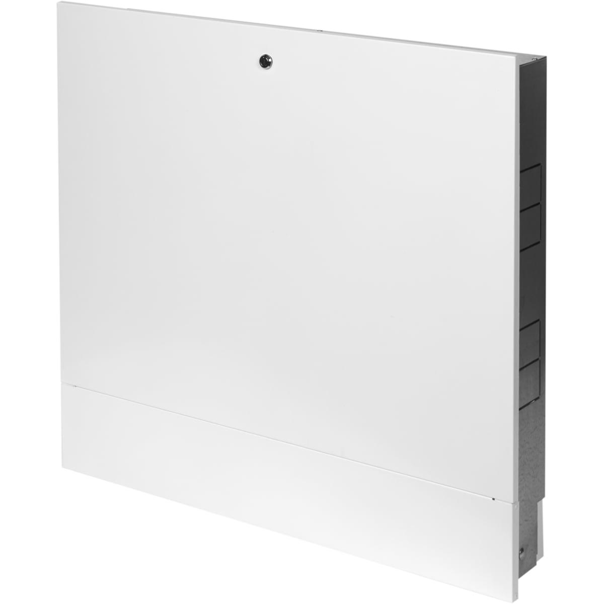 Шкаф коллекторный ШРВ-3 встраиваемый 700х120-180х648-711 мм