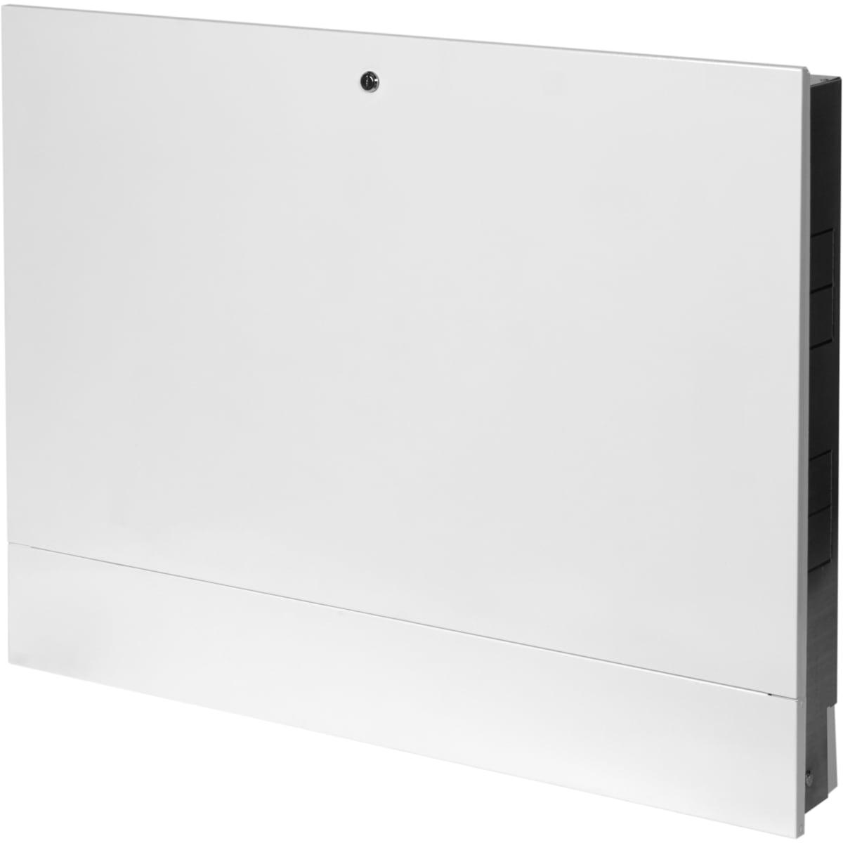 Шкаф коллекторный ШРВ-4 встраиваемый 850х120-180х648-711 мм