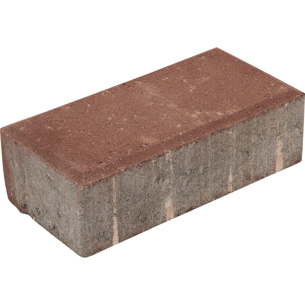 Плитка тротуарная прямоугольная Braer 200х100x60 мм цвет красный