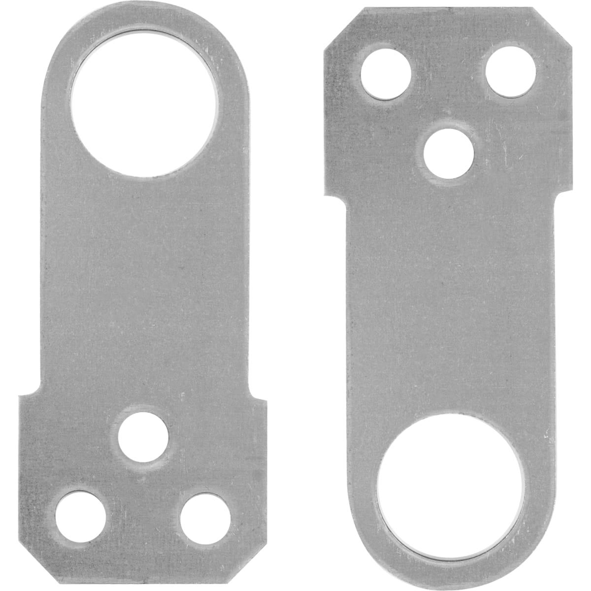 Проушина для замка прямая, 70х30х1.2 мм, оцинкованная сталь